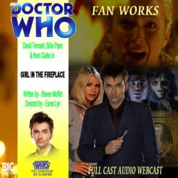 The Girl In The Fireplace - Big Finish cover by DWFanCreationsRjSyke