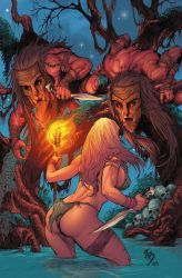 Jungle Girl Cover lll by Adrianohq