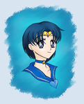 Sailor Mercury by TheKohakuDragon