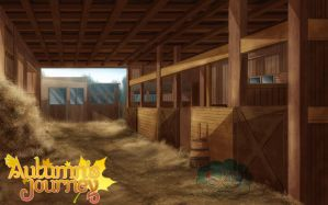 Barn Background by SKY-Morishita