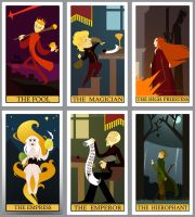 Game of Thrones Tarot - Part 1 by poly-m