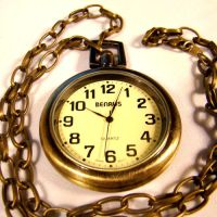 Hatter's Brass Pocket Watch by Om-Society