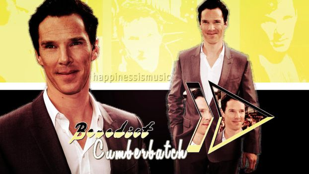 Benedict Cumberbatch wallpaper 21 by HappinessIsMusic