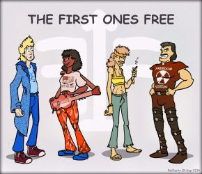 The First Ones Free by Rafferty
