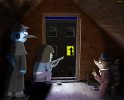 Regular Show - The Adventure of the Empty House by yinlin1994
