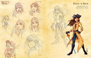 Evelet double page by JoeyVazquez