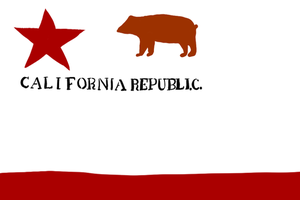 William Todd's Flag - First California Flag (1846) by SouthParkTaoist