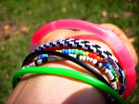 colorful wrist by nathaliie16nat
