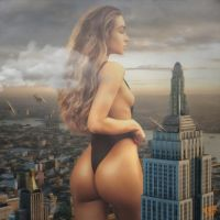 Queen Kong! (Giantess Sommer Ray) by GTSX3D