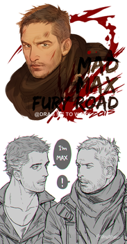 MAD MAX by kanapy-art
