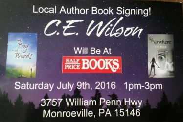 Book Signing! ! by cewilson5