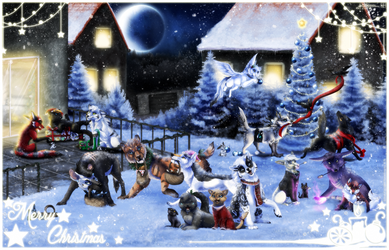 Merry Christmas 2016 by ThorinFrostclaw