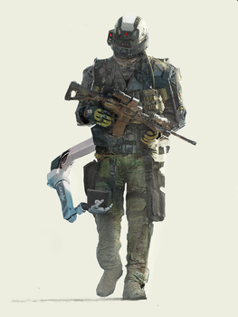 soldier by Asahisuperdry