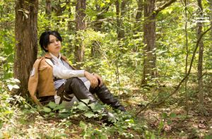 Forest Rivaille Levi by BaoLYpg