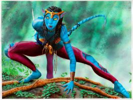 Avatars Neytiri by SethApophis
