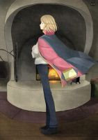 Howl - Howl's Moving Castle by Paulinaapc