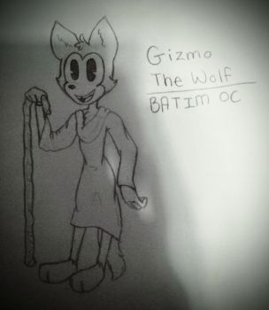 Gizmo The Wolf (BATIM OC) by clawdene4