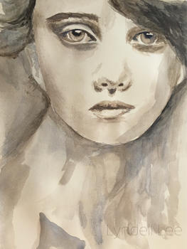 Watercolor Portrait  by LyndellLee