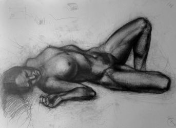 Figure Drawing by Vangega