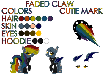 (C) Faded Claw by BloodLover2222