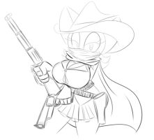 Sexy Bandit Rouge Sketch by XSuperiX