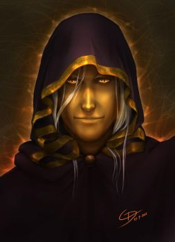 Raistlin Majere by RuaCharl