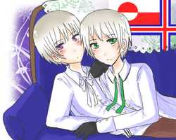 APH - Nordic Twins by DinoTurtle