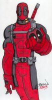 Deadpool. by hedbonstudios