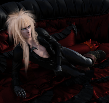 playful jareth by Dollysmith
