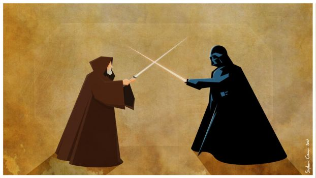 Obi-Wan Vs Darth Vader by Cranimation