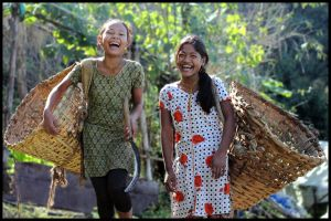 EXPLOSION OF LAUGH by praveenchettri