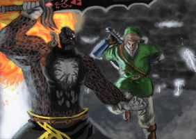 Link vs Demise by LutherTaylor