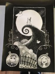 Nightmare Before Christmas commission by livewiredstudios