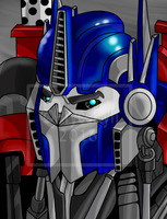 Optimus TF Prime by PryceRyn