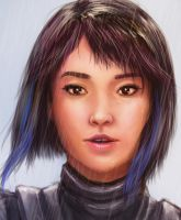 Mako Mori from Pacific Rim by khuon