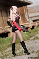 Lana Lethal and her custom Harley Quinn 1 by ksmith3620