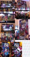 Monster High Collection 11/1/2012 by Chibi-Warmonger