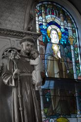 The Saint, The Child, and The Queen of Heaven by TowiWakka