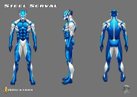 Steel Serval Redesign (Commision by RODCOM) by CAPTAIN-GAMMA