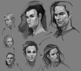 More Face Practice by ancalinar