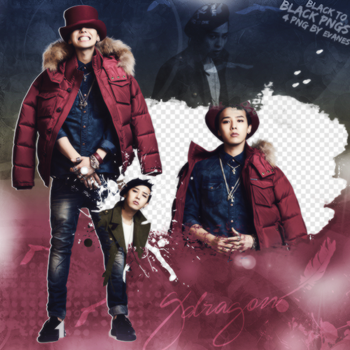 G Dragon Png Pack by MileyIsMyAngel
