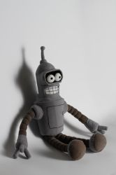 Bender plushie by Yellowgirl900508