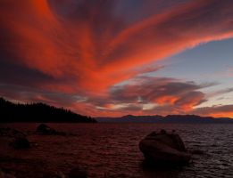 Lake Tahoe Sunset2 by MartinGollery