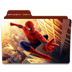 Spider-Man (2002) Folder Icon by AckermanOP