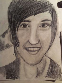 Austin Carlile portrait~ by KilljoyNeon-Angel