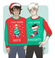 Have a Very Drarry xmas by midgaardian
