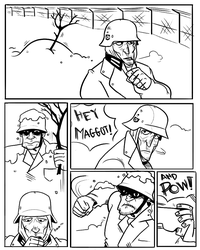 Soldier's War Story 1 by monkeyoo