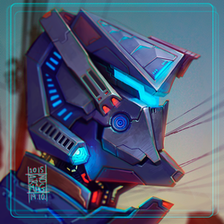 Robo-Head by AironMag
