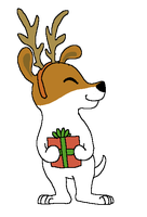 Olive the Other Reindeer by BluestarzStrike