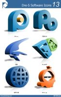 Dre-S Software Icons 13 by piscdong